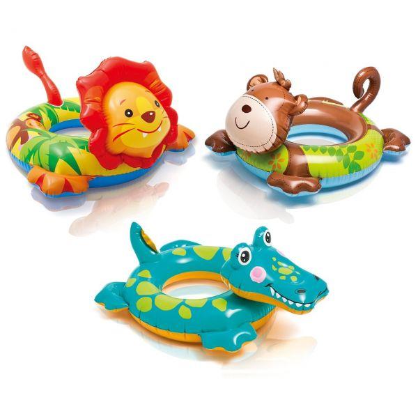 INTEX 7788221 - Wasserspielzeug - Ring Animal in verschiedenen Designs