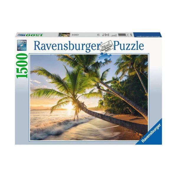 RAVENSBURGER 15015 - Puzzle - Strandgeheimnis, 1500 Teile