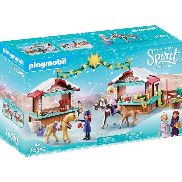 PLAYMOBIL 70395 - Spirit Riding Free - Weihnachten in Miradero
