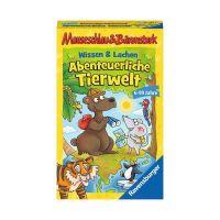 RAVENSBURGER 20737 - Mauseschlau & Bärenstark - Wissen und Lachen, Abenteuerliche Tierwelt
