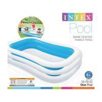 INTEX 56483 - Planschbecken - Kinderpool Family Pool, 262x175x 56 cm