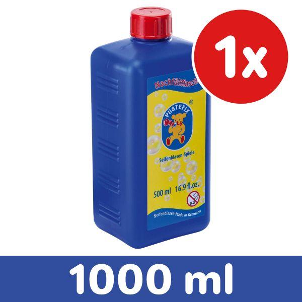 PUSTEFIX 420869725 - Seifenblasen - Nachfüllflasche, 1000 ml