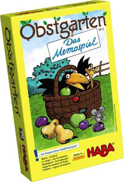HABA 4610 - Mitbringspiel - Obstgarten Memo