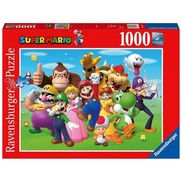RAVENSBURGER 14970 - Puzzle - Super Mario, 1000 Teile