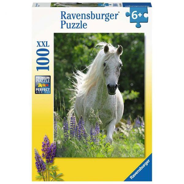 RAVENSBURGER 12927 - Puzzle - Weiße Stute, 100 Teile