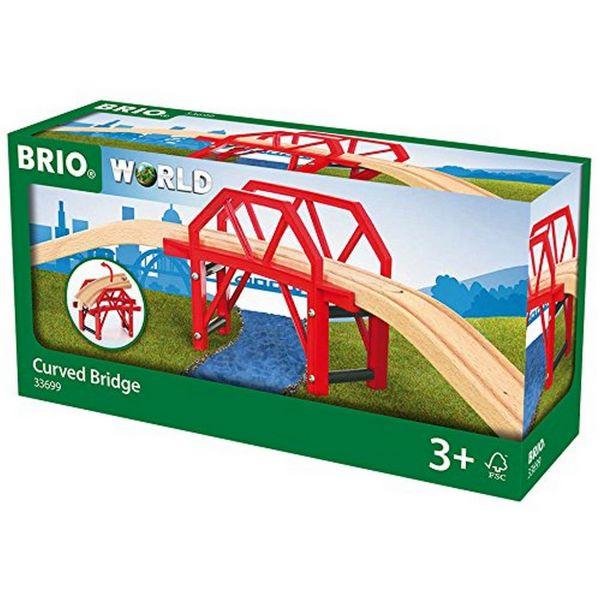 BRIO 33699 - Bahn - Bahnbrücke mit Auffahrten