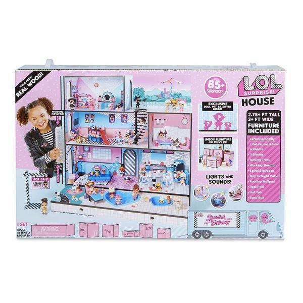 MGA 555001E7 - L.O.L. Surprise - House, Haus