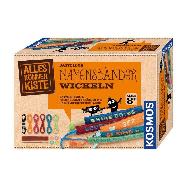 KOSMOS 604455 - Alles Könner Kiste - Namensbänder wickeln