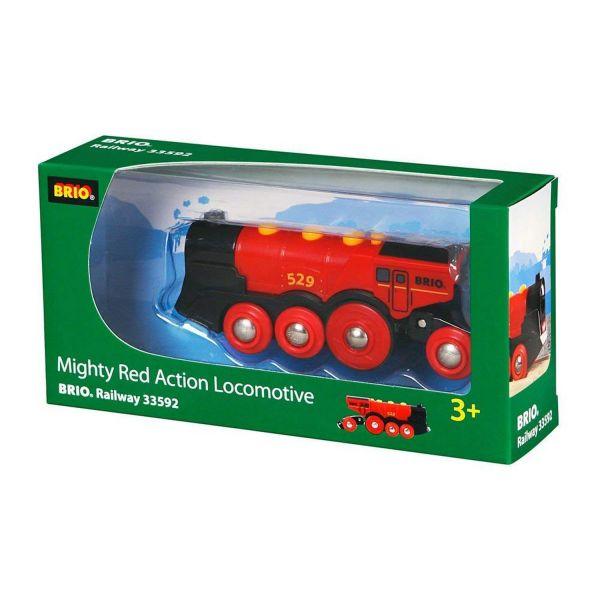 BRIO 33592 - Bahn - Rote Lola Batterielok