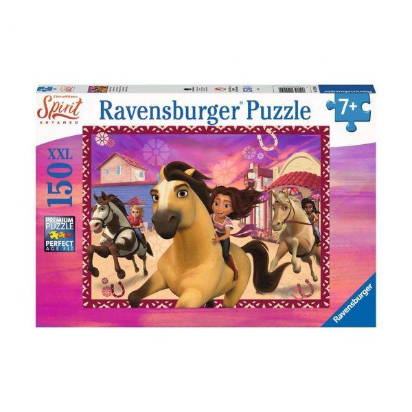 RAVENSBURGER 12994 - Puzzle - Spirit: Freunde fürs Leben, 150 Teile XXL