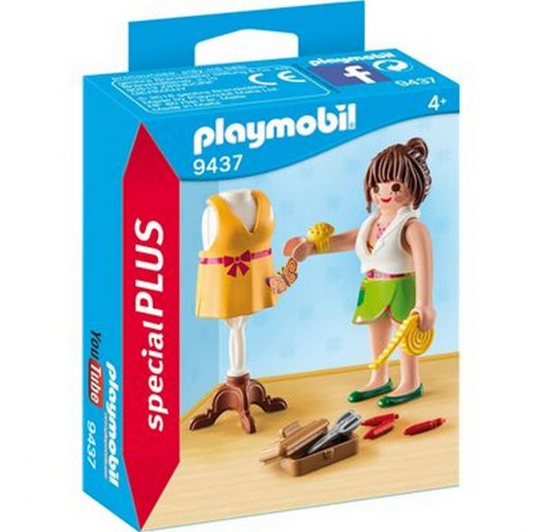 PLAYMOBIL 9437 - Special Plus - Modedesignerin
