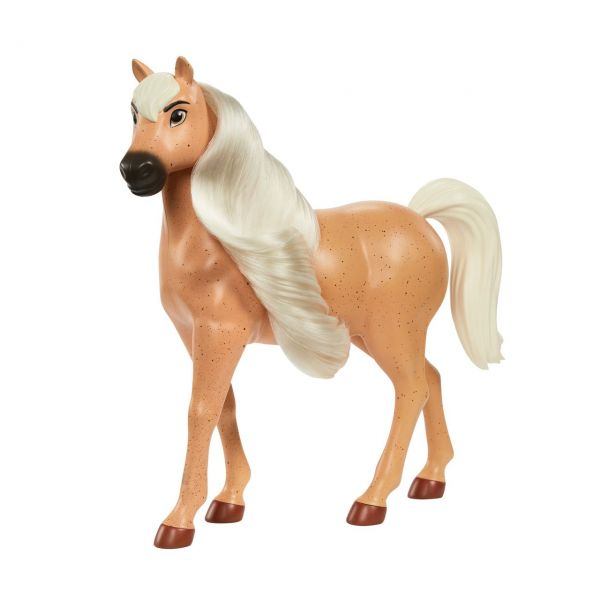 MATTEL GXD97 - Spirit Untamed - Pferd American Workhorse Hengst (hellbraun/beige)