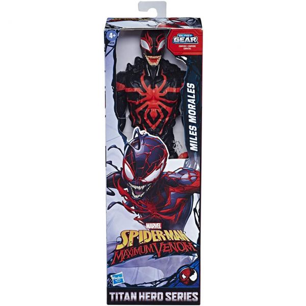 HASBRO E8729 - Spider Man - Titan Hero Maximum Venom, MILES MORALES