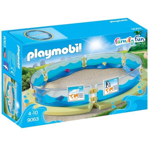 PLAYMOBIL 9063 - Family Fun - Meerestierbecken