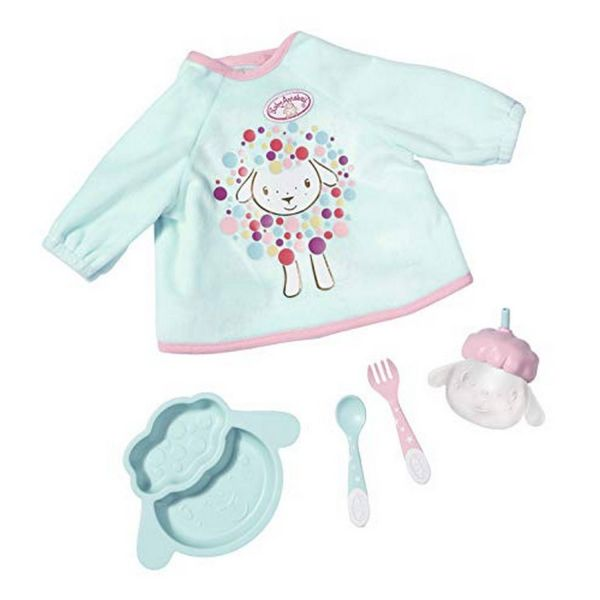 Zapf Creation 702024 - Baby Annabell® - Lunch Time Set, 43cm