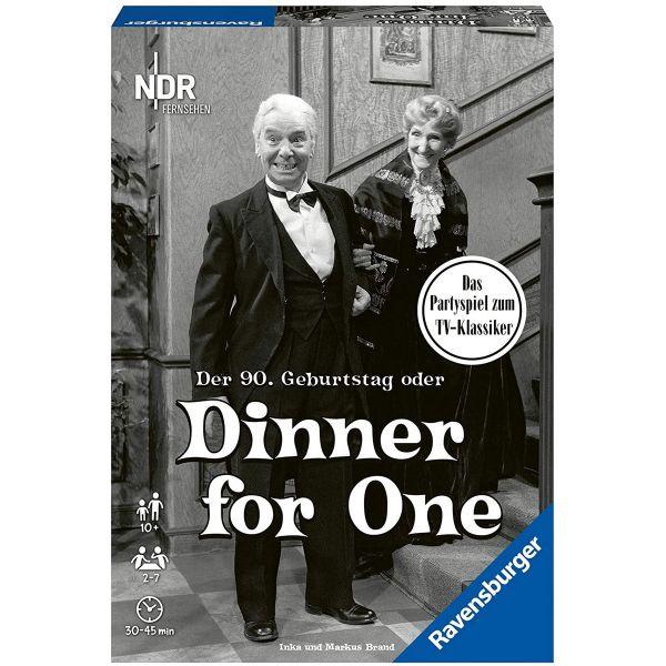 RAVENSBURGER 26835 - Gesellschaftsspiel - Dinner for One - Der 90. Geburtstag