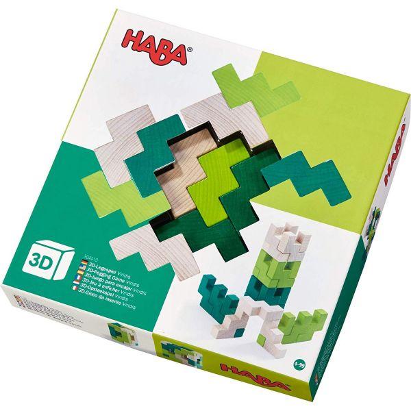 HABA 304410 - 3D-Legespiel - Viridis