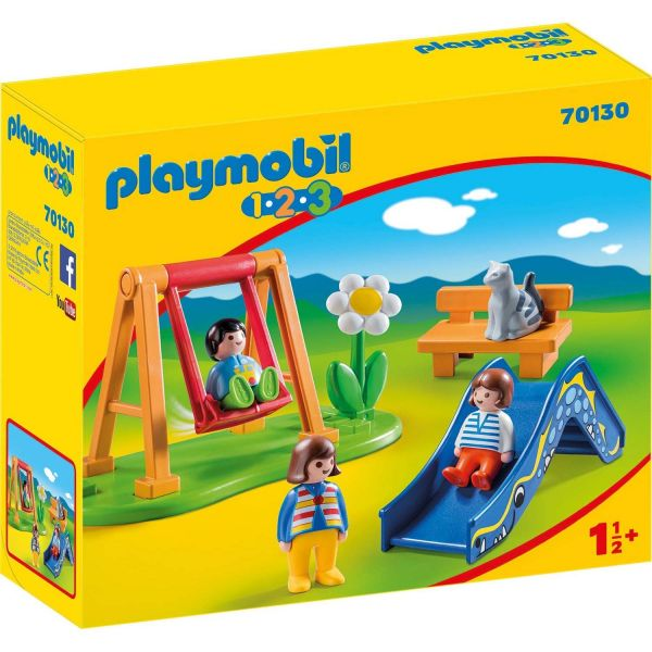 PLAYMOBIL 70130 - 1.2.3 - Kinderspielplatz