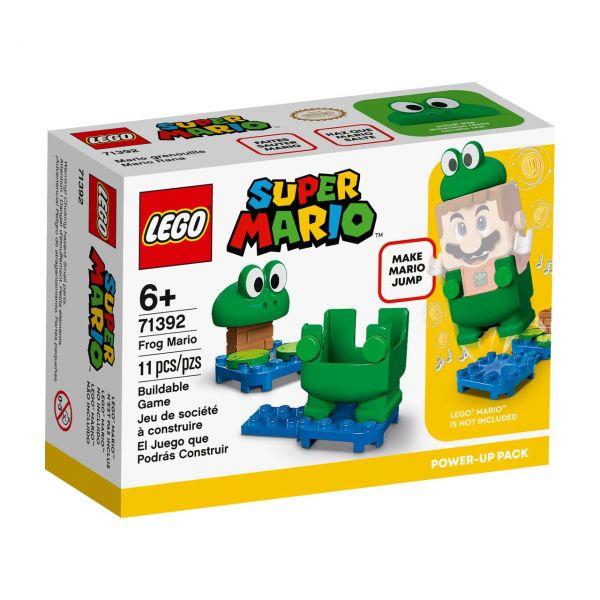 LEGO 71392 - Super Mario - Frosch-Mario Anzug