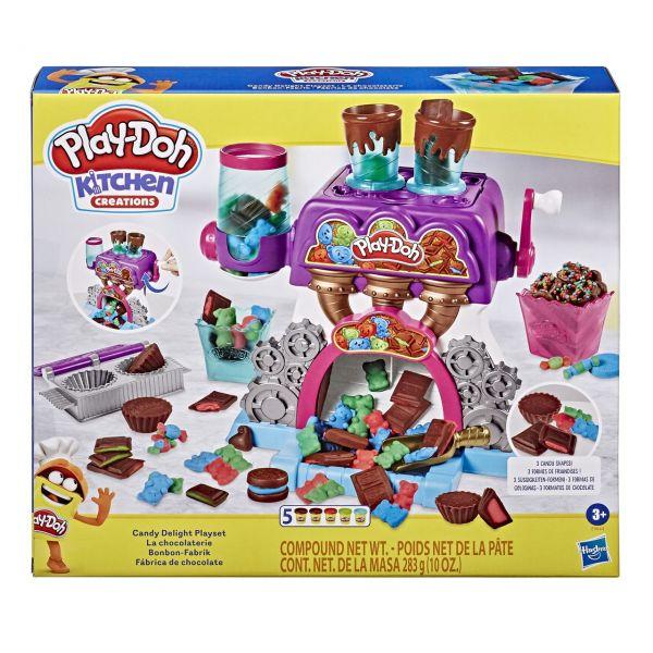 HASBRO E9844 - Play-Doh - Kitchen Creations, Bonbon-Fabrik