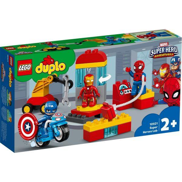 LEGO 10921 - DUPLO® Super Heroes - Iron Mans Labor-Treffpunkt