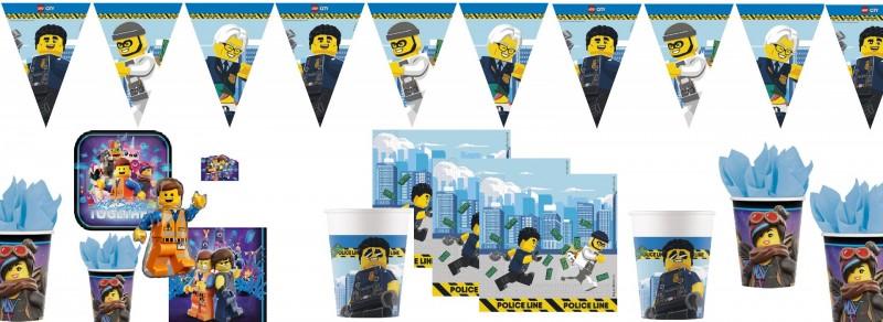 Partydeko Lego City bei Spielzeugwelten