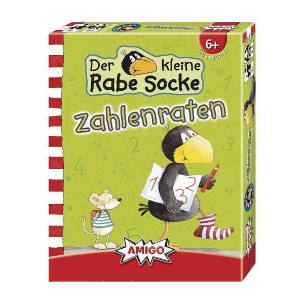 AMIGO 01904 - Kinderspiele - Rabe Socke - Zahlenraten