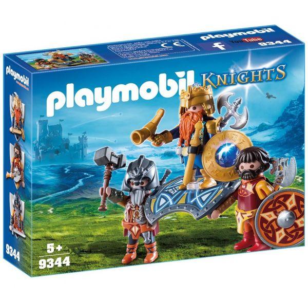 PLAYMOBIL 9344 - Knights - Zwergenkönig