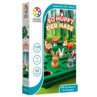 SMART GAMES 421 - Kompaktspiele - So hüpft der Hase!