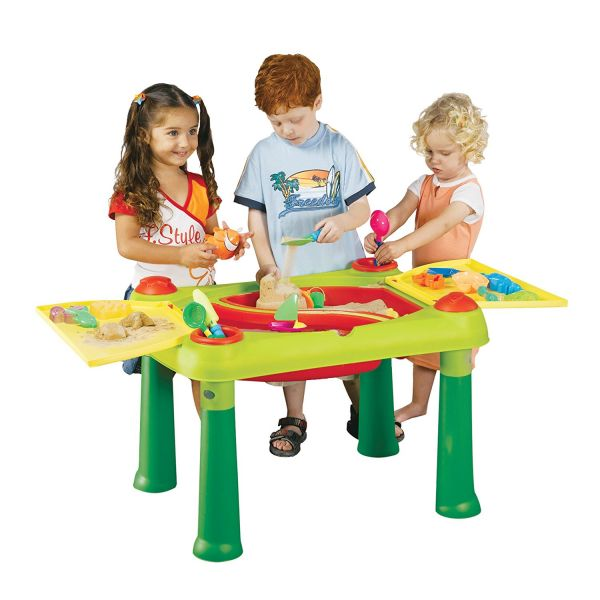 KETER 17184058 - Sandspielzeug - Sand- und Wasser Spieltisch