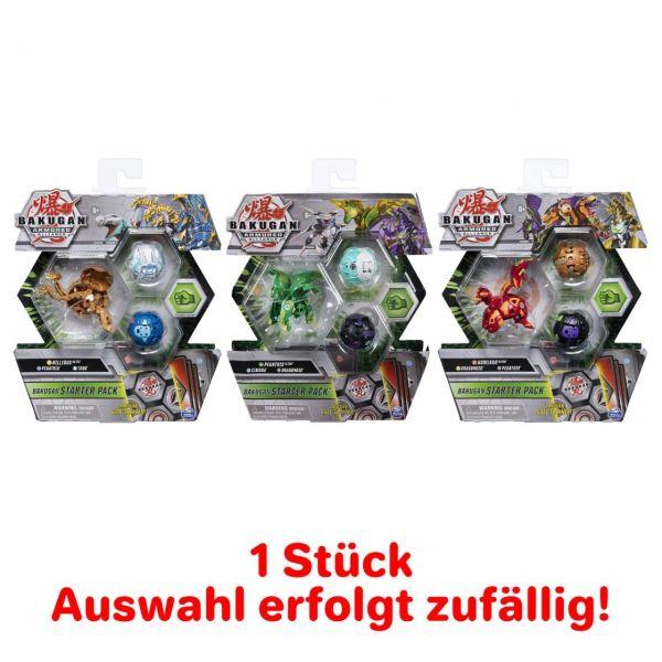 Spin Master 6055886 - Bakugan - Starter Pack mit 3 Armored Alliance Bakugan,1 St