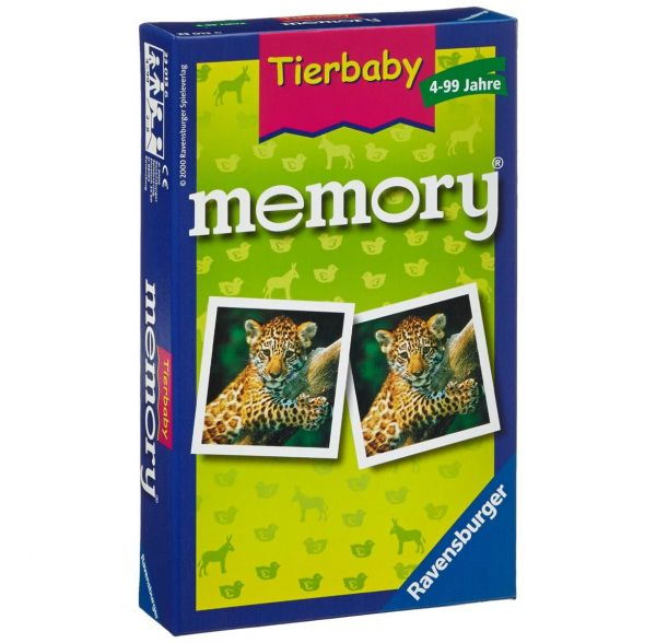 RAVENSBURGER 23013 - Mitbringspiel - Tierbaby Memory