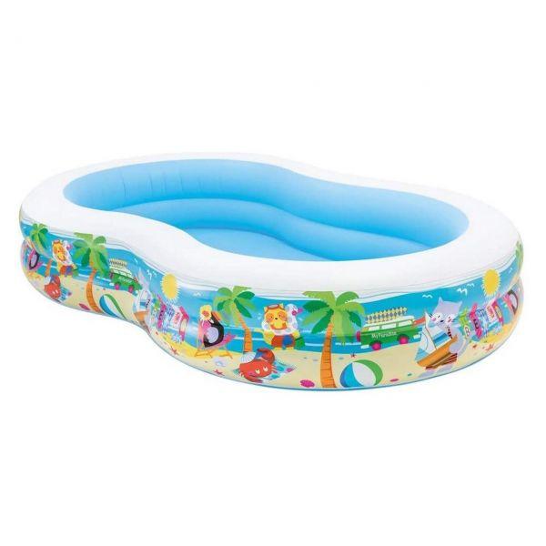 INTEX 56490 - Pool - Swim-Center, Paradise Lagoon, 262 x 160 x 46 cm
