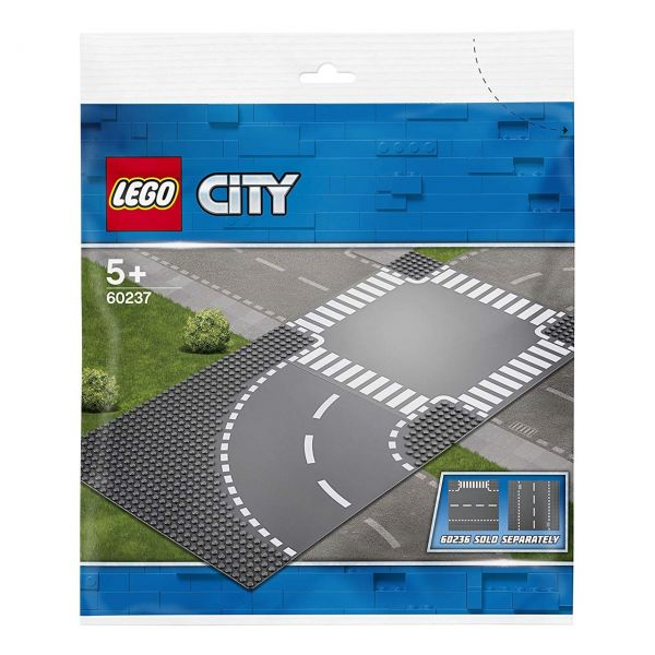 LEGO 60237 - City - Kurve und Kreuzung