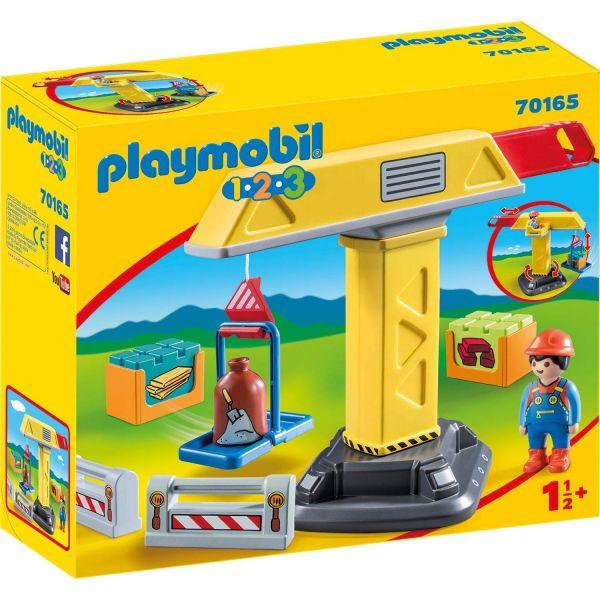 PLAYMOBIL 70165 - 1.2.3 - Baukran