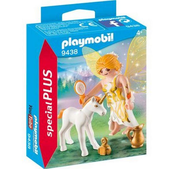 PLAYMOBIL 9438 - Special Plus - Sonnenfee mit Einhorn