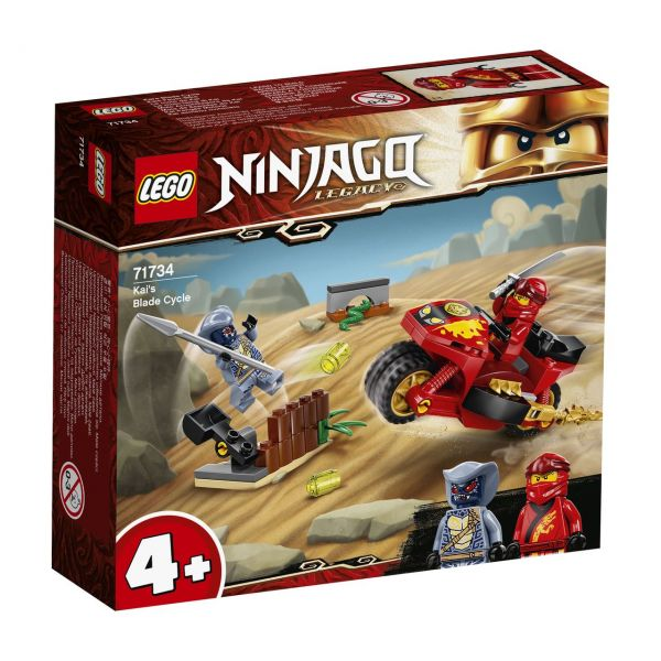 LEGO 71734 - NINJAGO® - Kais Feuer-Bike
