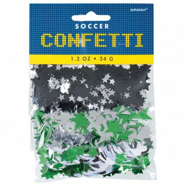 AMSCAN 364467 - Geburtstag & Party - Confetti Championship Fußball, 34 g