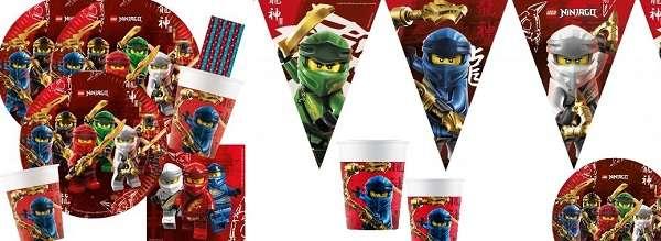 Partydeko Lego Ninjago
