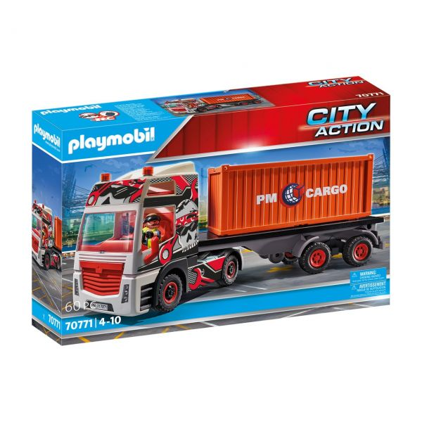 PLAYMOBIL 70771 - City Action - LKW mit Anhänger