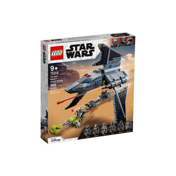 LEGO 75314 - Star Wars™ - Angriffsshuttle aus The Bad Batch™