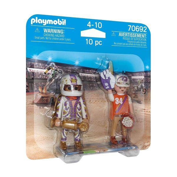 PLAYMOBIL 70692 - DuoPacks - Stuntshow-Team