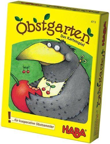 HABA 4713 - Mitbringspiel - Obstgarten, das Kartenspiel