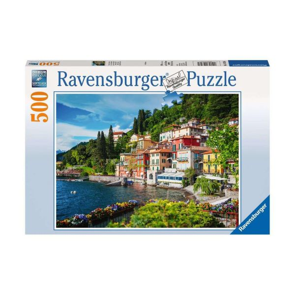 RAVENSBURGER 14756 - Puzzle - Comer See, Italien, 500 Teile