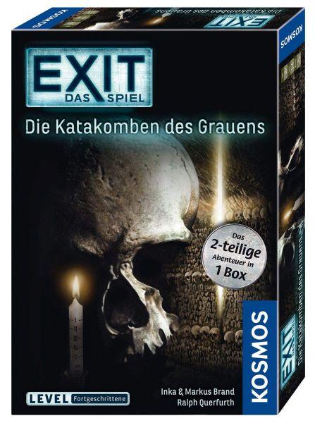 KOSMOS 694289 - EXIT - Die Katakomben des Grauens - 2-teiliges Spiel