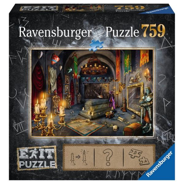 RAVENSBURGER 19955 - Puzzle - Exit 6: Im Vampirschloss, 759 Teile