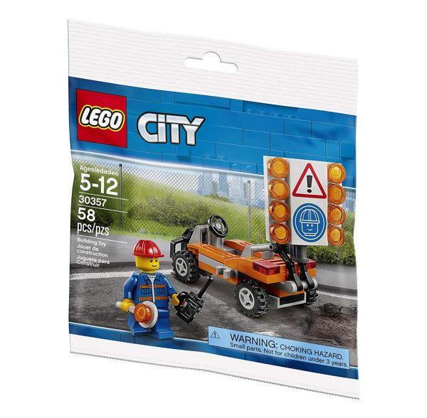 LEGO 30357 - City- Baustellen Absicherung