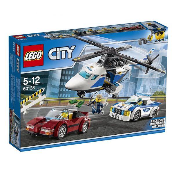 LEGO 60138 - City - Rasante Verfolgungsjagd
