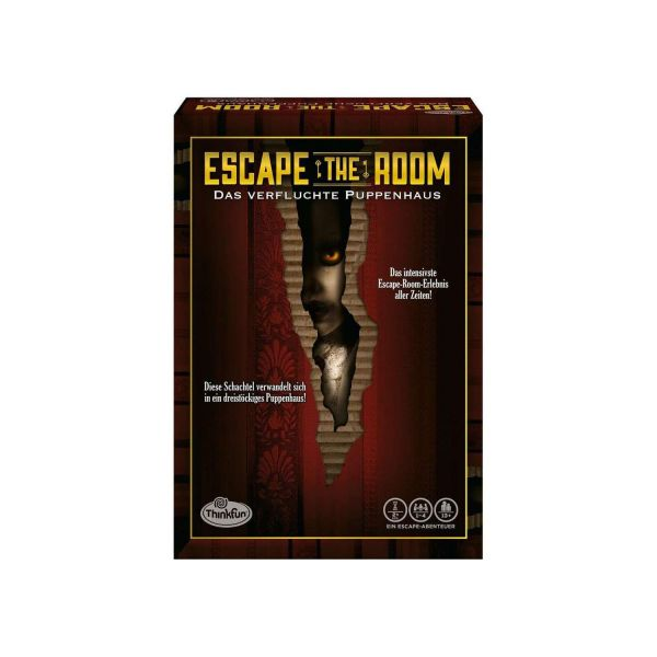 RAVENSBURGER 76371 - Escape the Room - 3 - Das verfluchte Puppenhaus