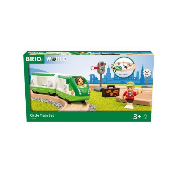 BRIO 33847 - Bahn - Starter-Set Reisezug